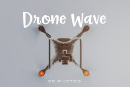 Drone Wave photo pack