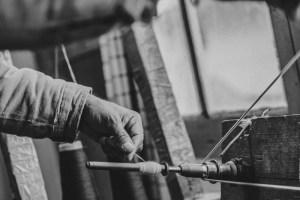 Vintage Thread Worker