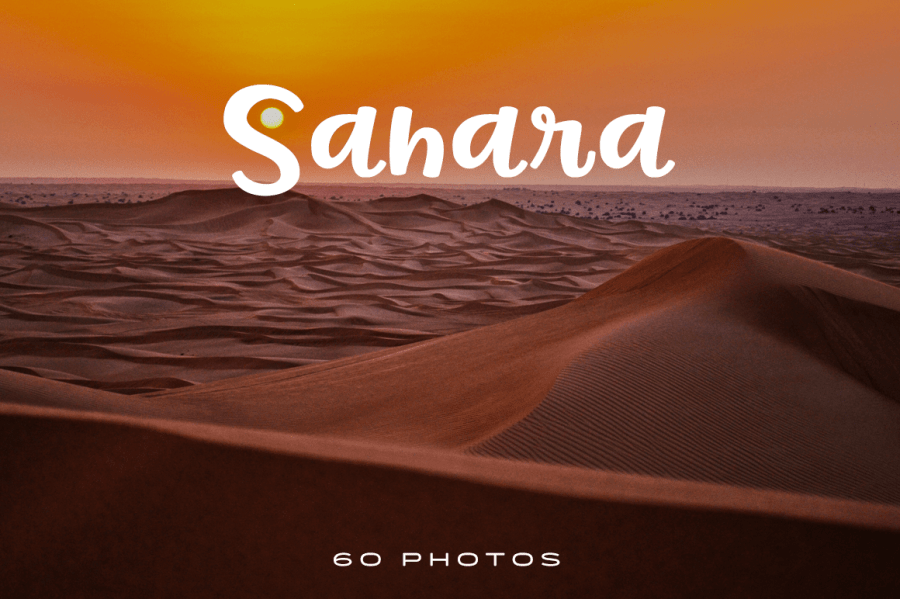 You don\'t need to travel thousands of miles to enjoy the great Sahara Desert. Here\'s a collection of photos that can transport you to this incredible body of