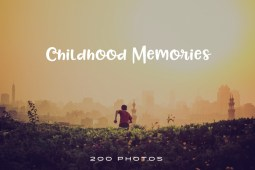 childhood memories photo pack