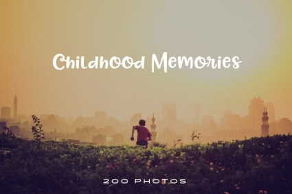 childhood-memories-photo-pack