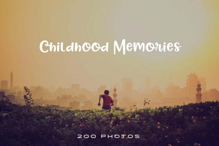 childhood-memories-photo-pack