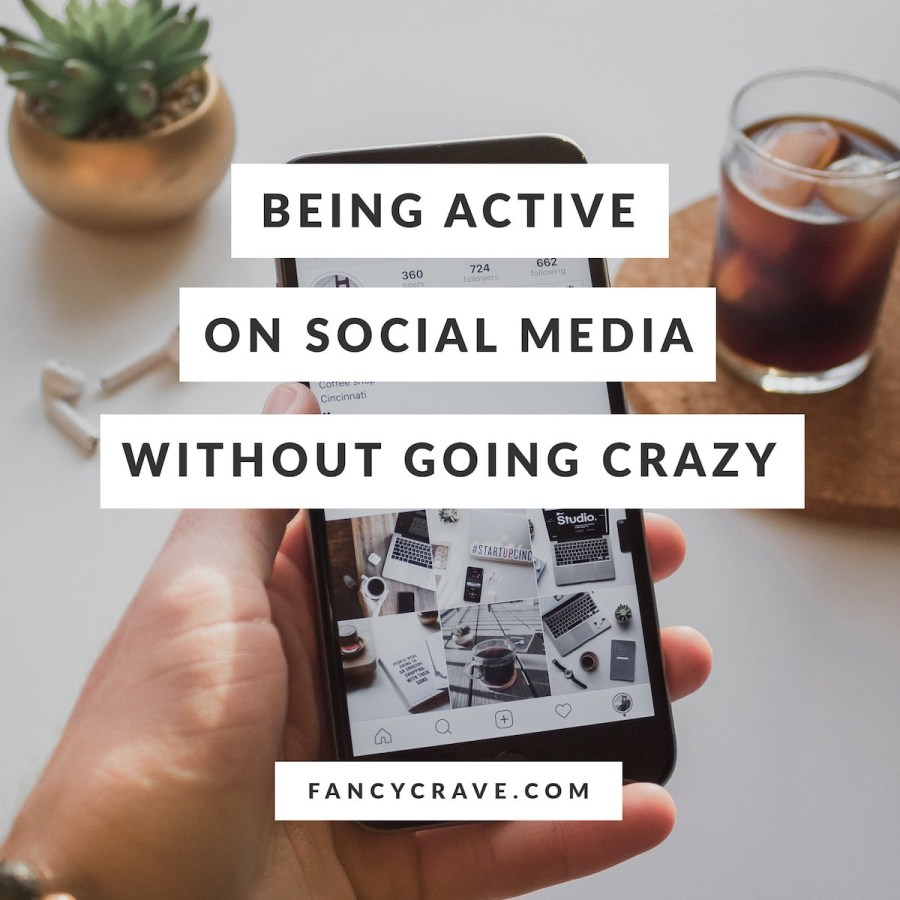 Love social media but can't seem to handle all the activity? Here are six tips to help you deal with social media without going crazy.