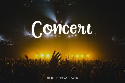 85 free public domain photos of concerts