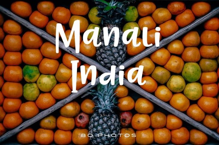 Manali India Photo Pack