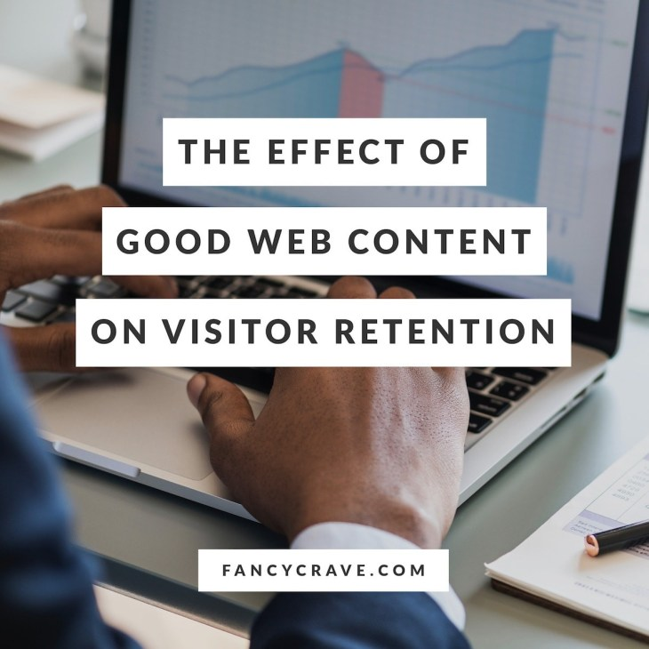 The Effect of Good Web Content on Visitor Retention
