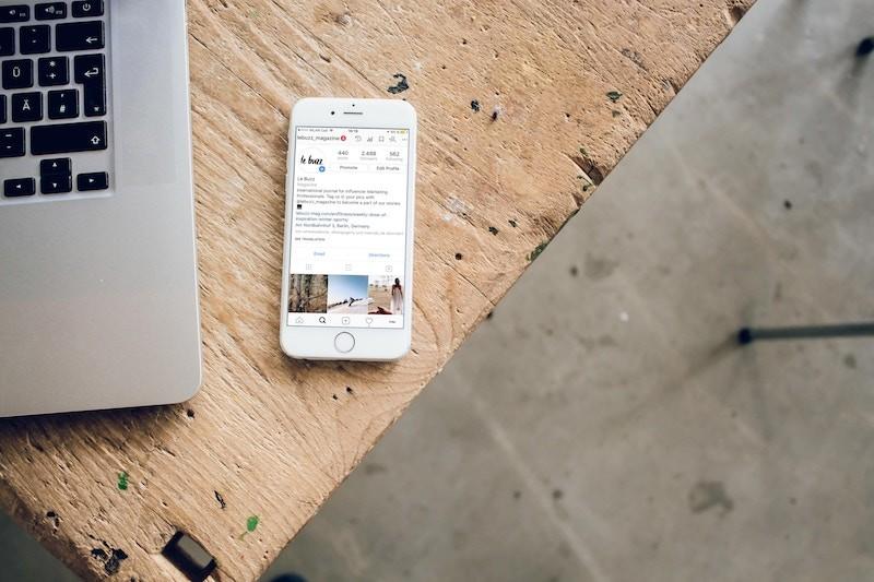 Instagram-Account-Open-on-an-Apple-iPhone