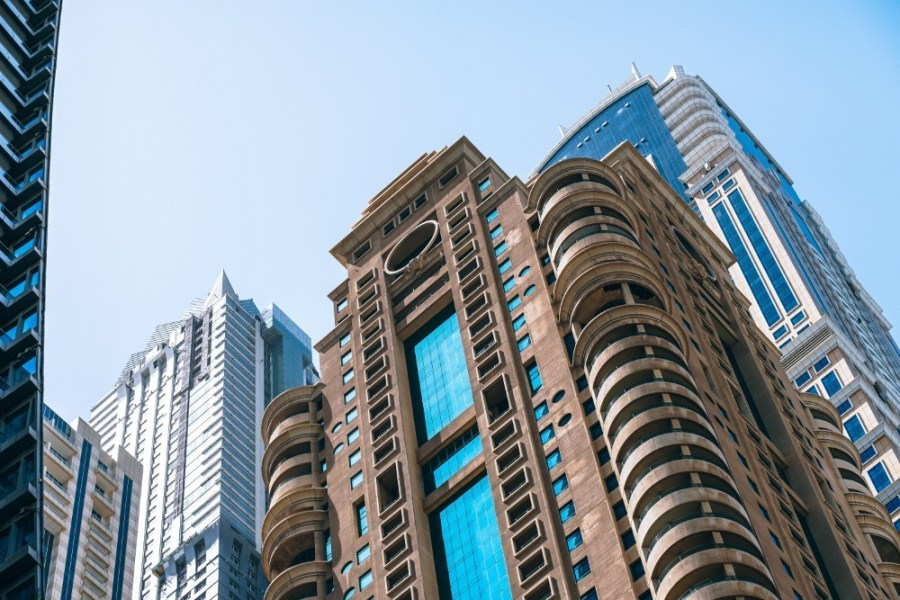 Architectural-Design-of-the-Dubai-Marina-Buildings