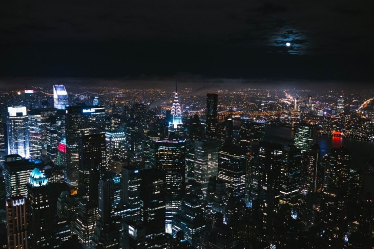 Amazing-Aerial-View-of-the-New-York-City-Skyline