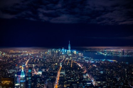 Night-Cityscape-of-New-York-City