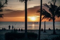 People-Enjoying-the-Sunset-at-Ottress-Beach-in-Cambodia