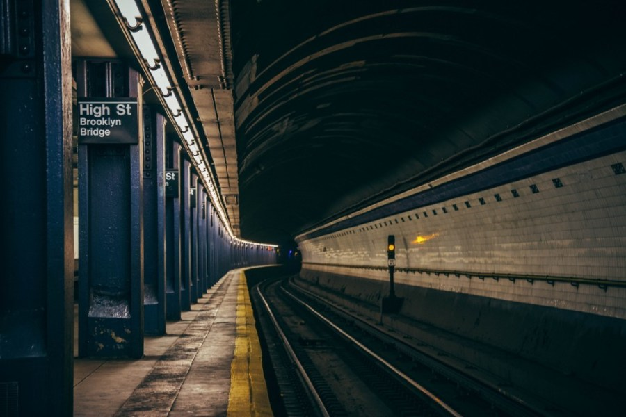 Underground-Subway-Station-in-New-York-City