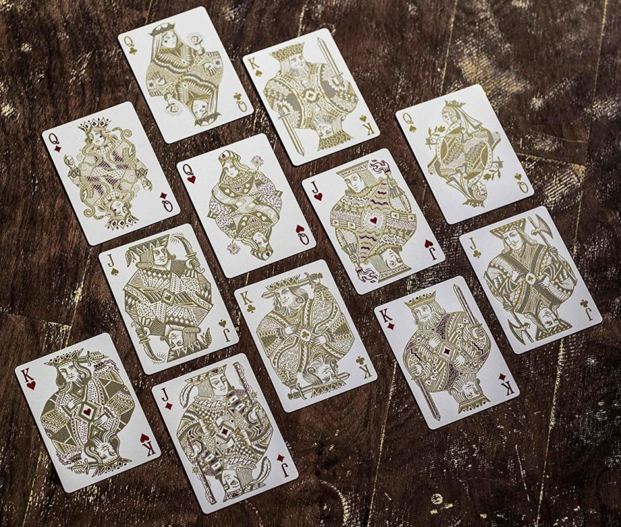 White-Gold-Edition-Custom-Designed-Deck-by-Joker-and-the-Thief®-Playing-Card-Company
