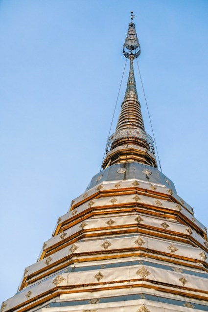 The-Top-of-the-Doi-Suthep-Temple-in-Chiang-Mai