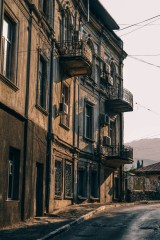 Vintage-Architecture-in-Yalta-at-Sunset