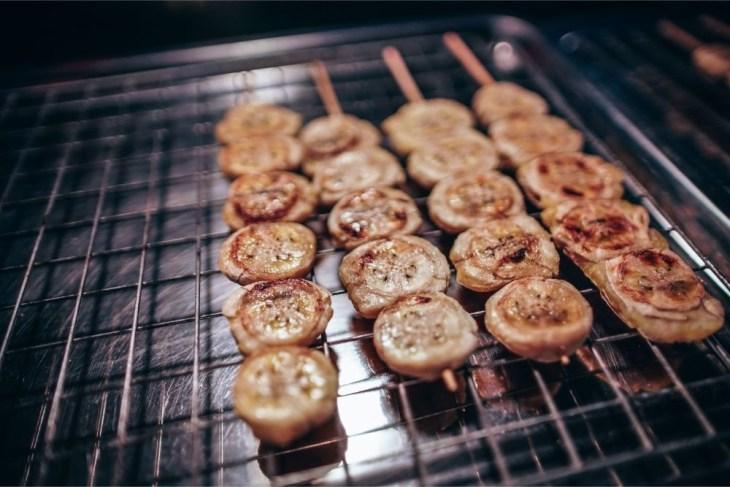 Grilled-Bananas-on-Wooden-Sticks