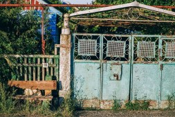Old-Rusty-Gate-at-a-House-in-Dzhankoy