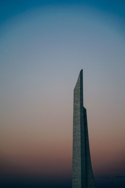 Tall-Monument-during-Sunset