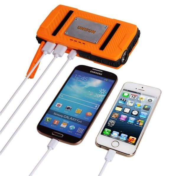 Unifun-10400mAh-Waterproof-External-Battery-Power-Bank-Charger-