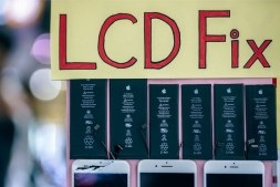 """""""LCD-Fix""""-Sign-Outside-of-a-Mobile-Repair-Shop"""