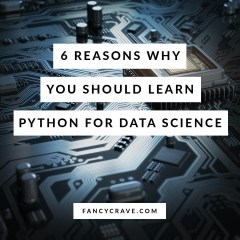 Reasons Why You Should Learn Python for Data Science