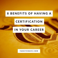 Having a Certification in Your Career