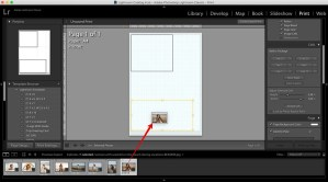 add photos to make a collage in lightroom using own design