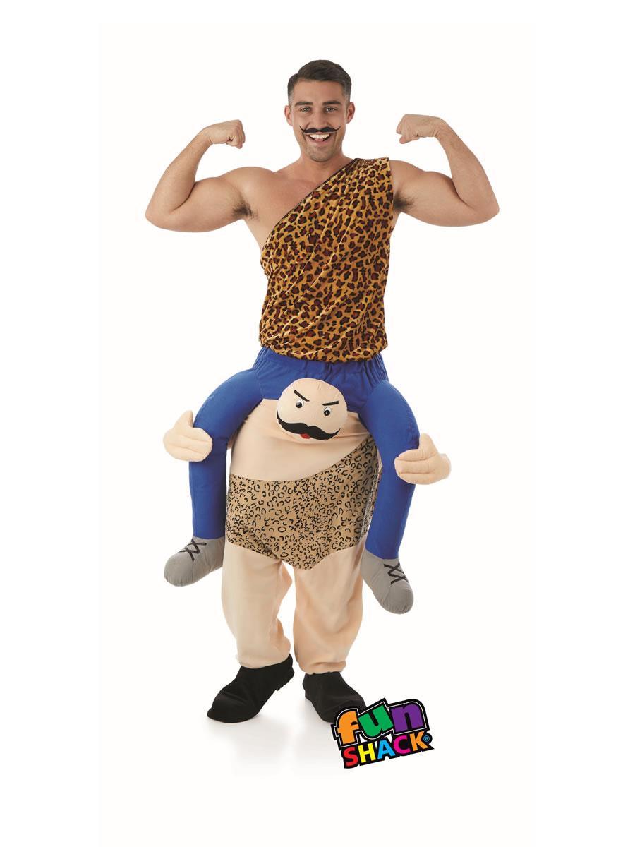 Adult Lift Me Up Strong Man Costume  Fs4485  Fancy Dress