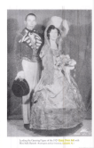 Justice Lewis F. Powell and Miss Sally Barrett, who led the opening figure at Fancy Dress in 1929