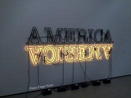 """Double America 2"" Glenn Ligon"