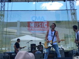 Russell Dickerson on the free stage!