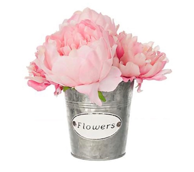 Shop my market fresh flower look fancy fix decor these flowers come in this cute flower pot already done for 10 pink flowers mightylinksfo