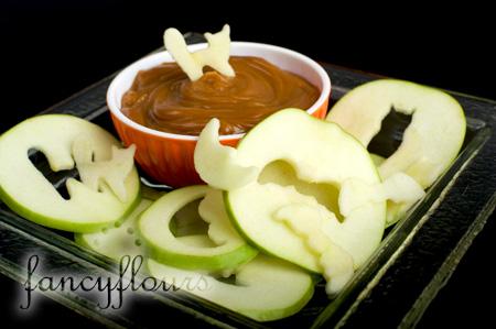caramel apple cutouts