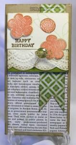 Happy Birthday Raining Flowers
