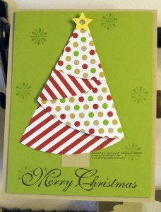Half-circle Christmas Tree
