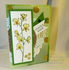 Watercoler Wonder Note Card - 1