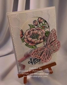 Black Butterfly & Rose