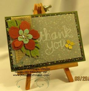 Botanical Blooms Notecard - 1