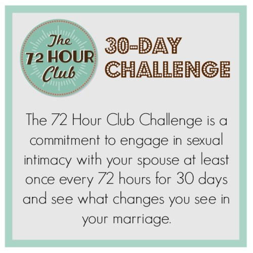 72 Hour 30 Day Challenge