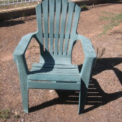 How To Paint Plastic Chairs X Back White Ugly Reclaimed And Made New With Some Love Spray