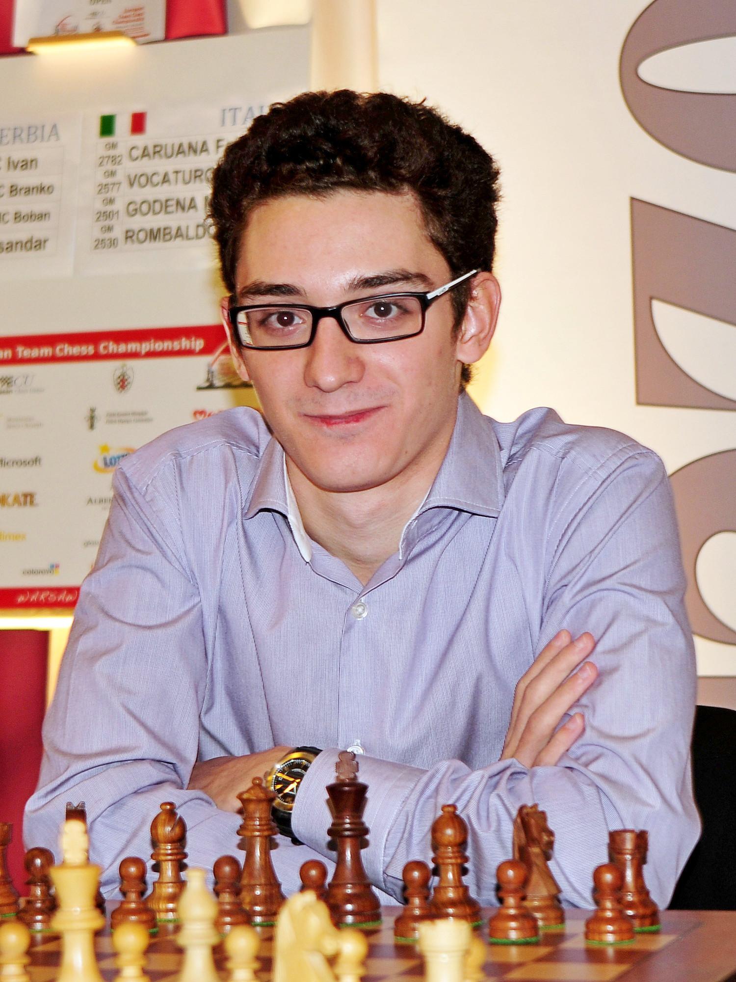 Top Famous Chess Player Fabiano Caruana