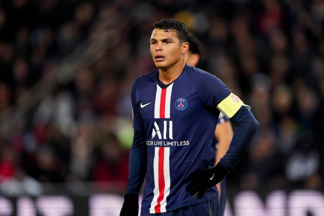 Top famous football player Thiago Silva