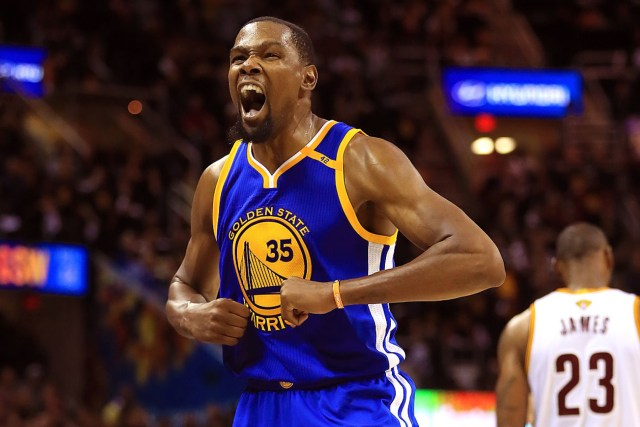 Kevin Durant top NBA player in history
