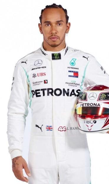 famous motorsports player Lewis Hamilton