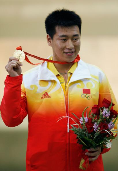 Famous Shooting Player Pang Wei