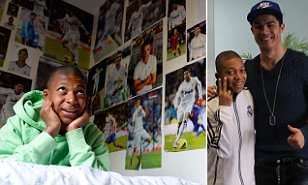 Kylian Mbappe With Ronaldo