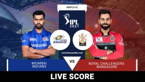 Vivo IPL 2021 M01: MI Vs RCB Live Score Telecast Head to Head Records | VIVO IPL 2021 Mumbai Indians Vs Royal Challengers Bangalore Live Match score Telecast Broadcast