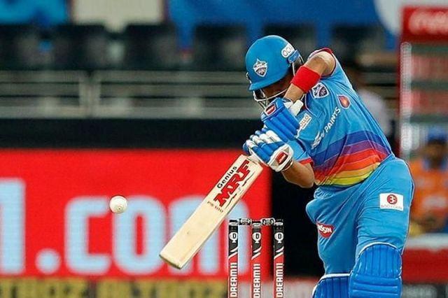 Prithivi Shaw during IPL 2020