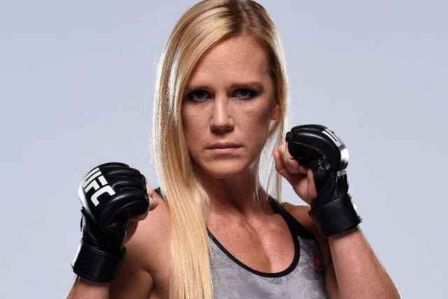 Holly Rene Holm Mixed Martial Arts Career
