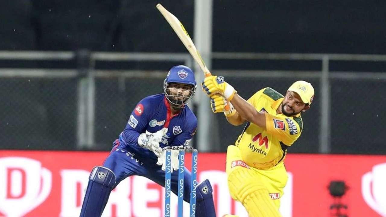 Suresh Raina during his innings